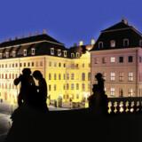 Det oprindelige Hotel Taschenbergpalais i Dresden blev sønderbombet under Anden Verdenskrig. Men efter den tyske genforening er det genopstået i al sin barok-pragt.