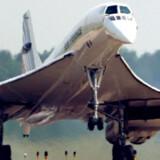 Fred Finn har præsteret tre ture med Concorden på den samme dag.