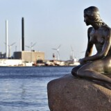 Copenhagen's Little Mermaid, seen by 2 million tourists every year - but oh so boring