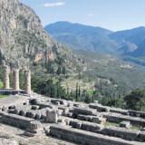 Et vandretur på Skala-stien i bjergene over Delfi er en betagende oplevelse.
