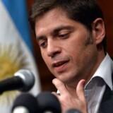 Argentinas økonomiminister Axel Kicillof