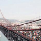 »Meia Maratona de Lisboa« er et af verdens største halvmaraton.