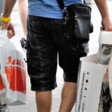 Det private forbrug ventes i år at runde 930 milliarder kroner. ARKIVFOTO