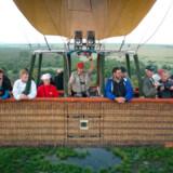 »Ballonens Boeing 747« præsenterede skipper stolt sit fartøj. Otte etager høj og med masser af plads til 16 passagerer i kurven.