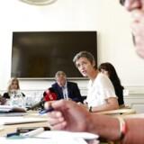 »Når man er i en genopretning, skal man gå fra en lempelig finanspolitik til en mindre lempelig finanspolitik,« siger Margrethe Vestager.