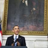 USAs præsident, Barack Obama, var ikke længe om at komme på talerstolen, da det stod klart, at atomaftalen med Iran var i hus. Men selv om aftalen umiddelbart er endnu en kærkommen triumf for præsidenten, var han forsigtig i sit ordvalg under præsentationen. Den er nemlig foreløbig, og hvis iranerne løber fra den, kan den give kraftigt bagslag.