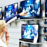 Danskerne køber stadig ny fladskærm i stor stil. Arkivfoto: Iris/Scanpix
