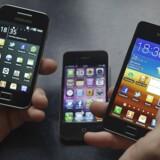 Ved første øjekast kan det være svært at kende forskel på de smartphones, der er på markedet i dag.