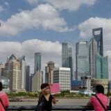 Ifølge den amerikanske økonom Jonathan Anderson er Kina på ingen måde på randen af et kollaps, som det ellers til tider påståes. For eksempel har kineserne en lav privat gæld, ligesom bankerne er i stand til at finansiere sig selv. Foto: Peter Parks/AFP
