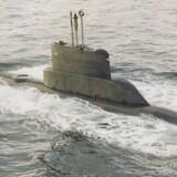 ARKIVFOTO: Dette er ikke den ubåd, der netop er fundet i Sverige.