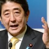 Premierminister Shinzo Abe forsøger at sparke gang i den japanske økonomi ved blandt andet at føre en meget løs pengepolitik.