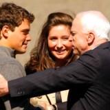 Bristol Palin og Levi Johnston fik stor opmærksomhed i den amerikanske præsidentvalgkamp og nåede blandt andre at møde John McCain.