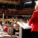 Annette Vilhelmsen har slugt den ene politiske kamel efter den anden i sin tid som SF-formand.
