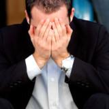 41 procent af de adspurgte mænd gemmer sig når tårerne får frit løb ombord.
