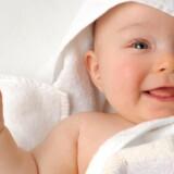 Modelfoto af nyfødt.