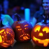 Halloween fejres 31. oktober.