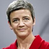 Økonomi- og indenrigsminister, Margrethe Vestager (R) der er formand for Ecofin mødtes fredag med den europæiske banksammenslutning repræsenteret blandt andet af danske Christian Clausen, der er koncernchef i Nordea. Arkivfoto.