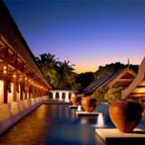 Luksus er i højsædet på det smukke hotel Tanjong Jara.