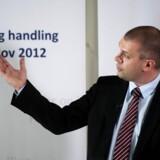 Finansminister Bjarne Corydon fremlægger oplægget til Finanslov 2012