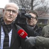Produktionsdirektør Steffen Normann Hansen ankommer til afhøring i Skattesagskommissionen i Søborg