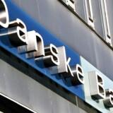 Danske Bank falder fra morgenstunden tirsdag med 6,6 pct. til 104,3 kr.