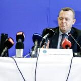Lars Løkke Rasmussen har siddet over et år i formandsstolen i GGGI og holdt i oktober et timelangt pressemøde om sine bilag. Foto: Jeppe Bjørn Vejlø
