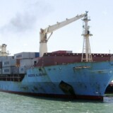 """""""Maersk Alabama"""" blev i 2009 forsøgt kapret og kaptajnen taget som gidsel. Nu beskyldes de amerikansk indflagede skibe i Maersk Line Limited for at have hyret skydegale vagter."""