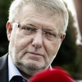 Skat Københavns tidligere direktør Erling Andersen ankommer til genafhøring i Skattekommissionen onsdag 21. august 2013.