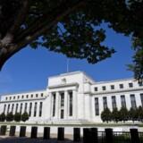 Det er længe blevet diskuteret, hvornår den amerikanske centralbank vil nedtrappe opkøb, af obligationer, men det sker formentlig ikke før nytår. Foto: EPA/Jim Lo Scalzo