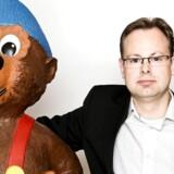 Licensdirektør Michael Bentzon har gjort Rasmus Klump til en god forretning for Egmont.