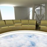 Hotellet vil blive 265 meter højt og være tungere end verdens tungeste fly.