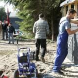 Træ-Industri-Byg (TIB) og 3F-blokade i Nordjylland i 2005, hvor polske håndværkere arbejdede med at bygge sommerhus uden overenskomst.