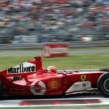 Banen i italienske Monza er den i verden, der har lagt asfalt til flest hæsblæsende Formel 1 løb.