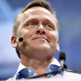 Anders Samuelsen på talerstolen ved Liberal Alliance's landsmøde i Tivolis Kongrescenter i april 2014.