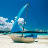 Øen hedder Dicalabuan Island, men er også kendt som Banana Island.