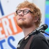 Ed Sheeran vandt en Danish Music Awards i år for årets internationale hit for Shape of You.