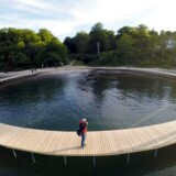Arkivfoto: Skulpturbro i Aarhus.