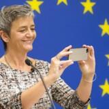 EUs danske konkurrencekommissær, Margrethe Vestager, pålagde 30. august Apple at efterbetale 13 milliarder euro eller næsten 100 milliarder kroner i den ubestridt største skattesag i EUs historie.