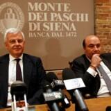 Arkivfoto. Det virker mere og mere sandsynligt, at den italienske bank Banca Monte dei Paschi di Siena bliver nationaliseret. Flere eksperter vurderer dog, at det ikke er nok til at redde landets banksektor.