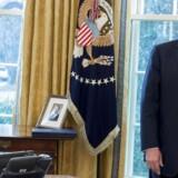 Donald Trump har lidt sit hidtil største nederlag, efter appelret fastholdt suspenderingen af præsidentens indrejseforbud, der omfatter langt over 100 mio. mennesker. / AFP PHOTO / SAUL LOEB