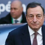 Mario Draghi orienterer torsdag finansmarkederne om ECB's syn på pengepolitikken.