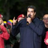 Resultaterne viser, at præsident Nicolas Maduros socialistparti har vundet i 17 af landets 23 delstater.