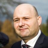 Søren Pape Poulsen Lars Løkke har inviteret til forhandlinger om den nye trekløver regering. Søren Pape Poulsen ankommer til Marienborg d. 21. november 2016. (Foto: Ólafur Steinar Gestsson/Scanpix 2016)