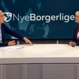 Pernille Vermund, formand for Nye Borgerlige, på besøg i Deadline.