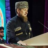 Den Putin-tro Ramsan Kadyrov sværges ind som leder af Tjetjenien for tredje gang i oktober 2016.
