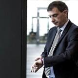 Lars Petersson, adm. direktør i Sparekassen Sjælland-Fyn, er lettet over nye krav fra Finanstilsynet, der rammer banken mindre hårdt end ventet.