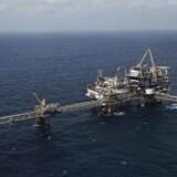 Olieleverandøren Welltec har underskud for andet år i træk. Her er det et billede af Maersk Oils Tyra-felt.