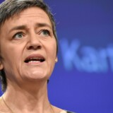Margrethe Vestager vil selv meget gerne fortsætte som kommissær. Scanpix/John Thys/arkiv
