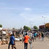 Selvsmordsbomberne ramte et marked i Maiduguri