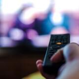 »Den nuværende afgift holder ikke. Vi ser, at andelen, som dropper deres tv, hele tiden stiger,« siger udvalgsformand Sture Nordh på et pressemøde. Foto: Iris.